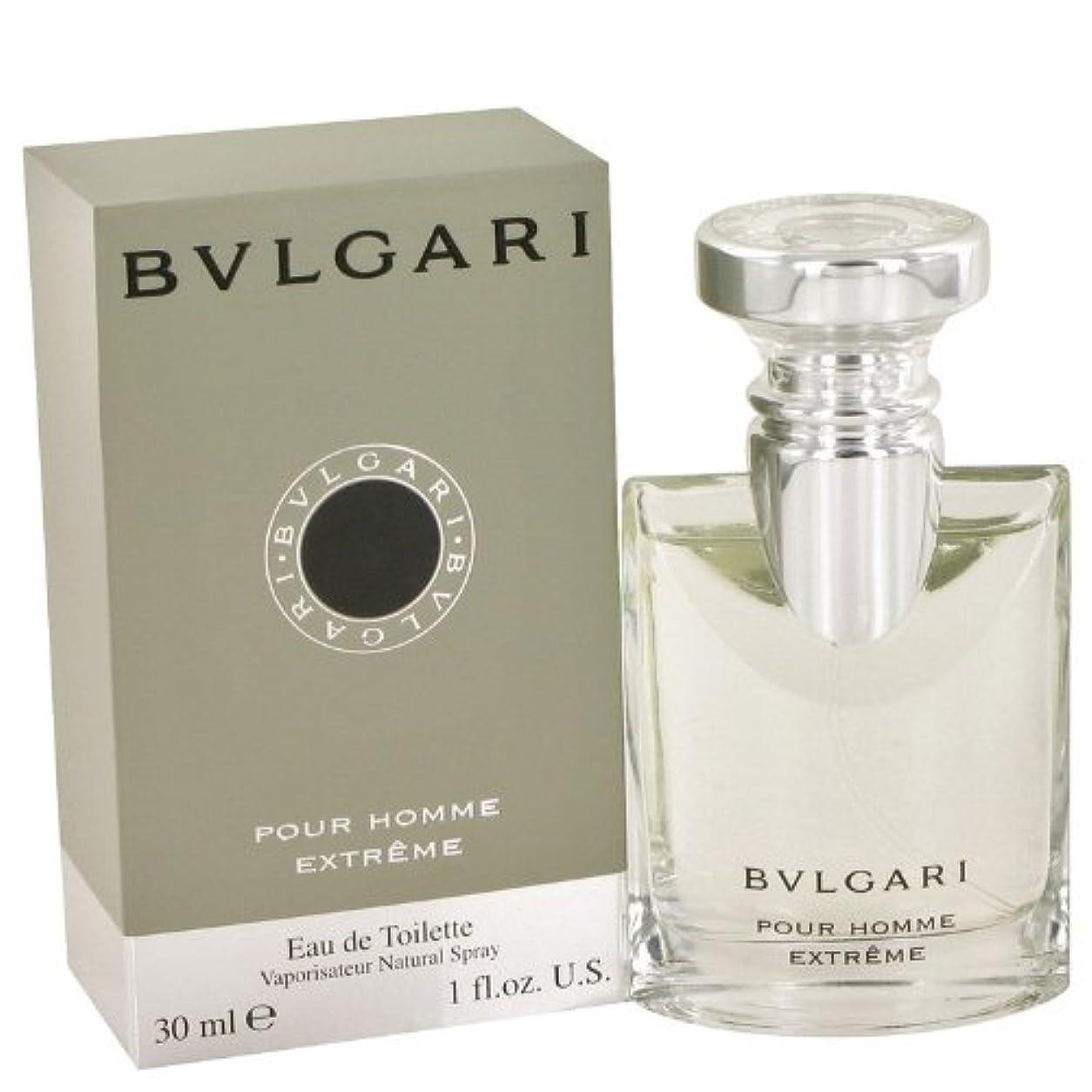 イブニングウェブ可動式ブルガリ プールオム エクストレーム オードトワレ EDT 30mL 香水