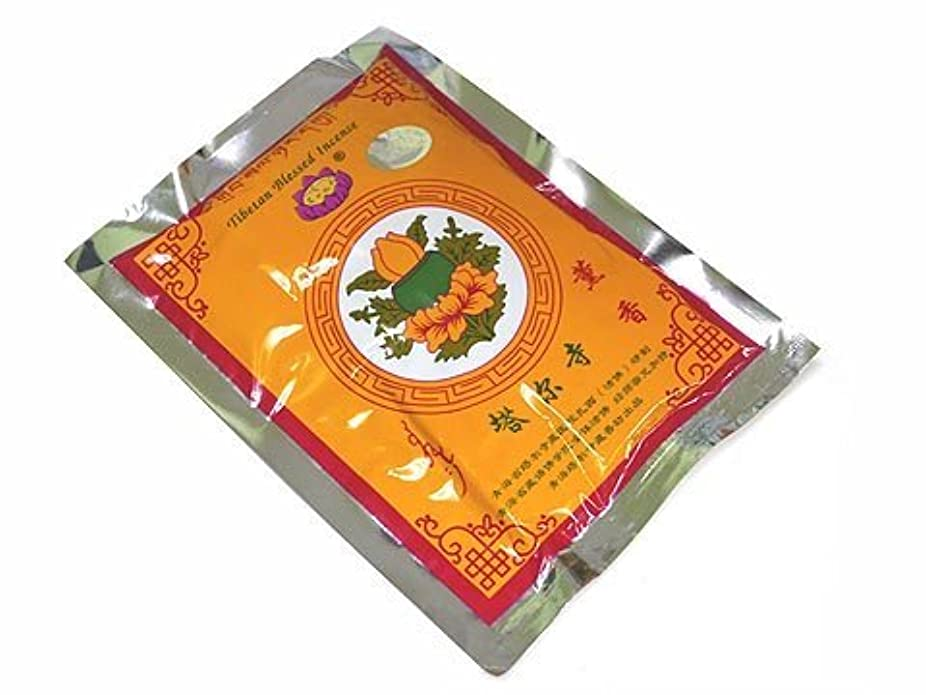 圧縮された豚あえぎタールゴンパ チベット仏教塔 寺(タールゴンパ)【密宗清除薫香パウダータイプ】