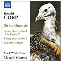 String Quartets 1 & 2 by RONALD CORP (2011-03-29)