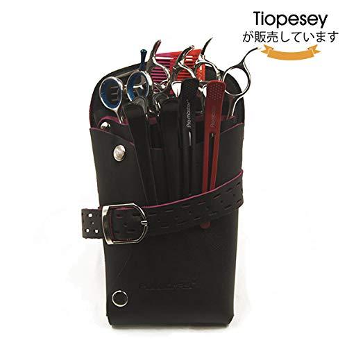 シザーケース LuckyFine シザーバッグ ハサミ収納 美容師 サロン トリマー 用 2色 ブラック