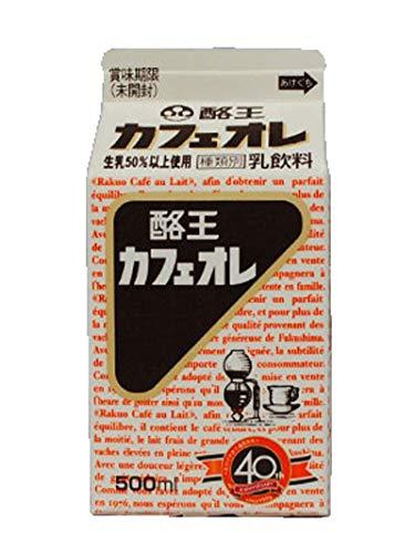 酪王カフェオレ 500ml 6本セット