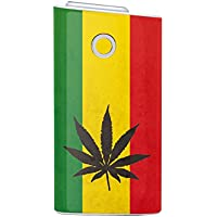 Biijo グロー シール glo スキンシール 全面対応 レゲエ reggae ラスタカラー ジャマイカ ヘンプ柄 (C.hemp)