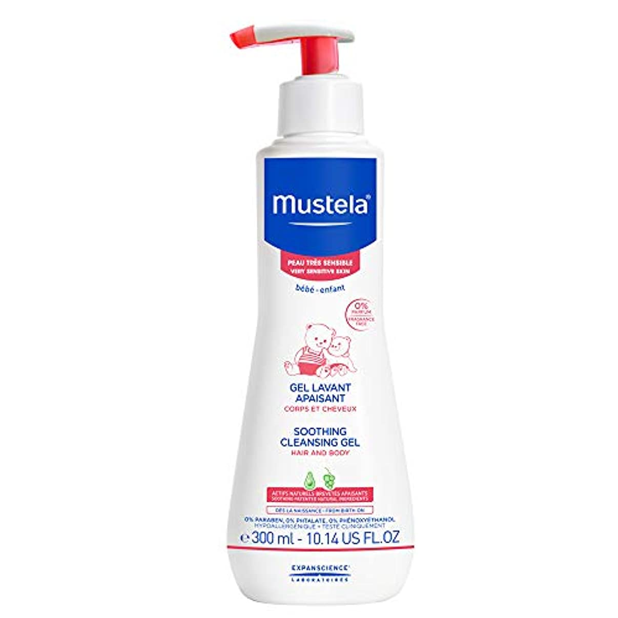 習字飼いならすシェードMustela - Soothing Cleansing Gel (10.14 oz.)