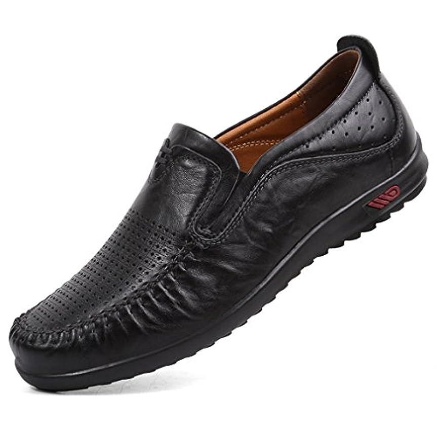 終了しました花束抽象WEWIN ビジネスシューズ メンズ ローファー スリッポン モカシン 本革 サンダル 革靴 ドライビングシューズ おしゃれ 超軽量 手作り 通気 柔らかい