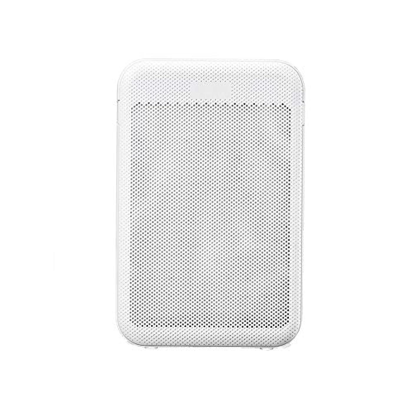 デクリメント突破口望むビズアイ 空気清浄機ホームリビングルームのベッドルームホルムアルデヒド細菌ウイルスPM2.5防塵受動喫煙スマートベッドルームクイック除菌率99.9% エアフィルター清浄機 (Color : White)
