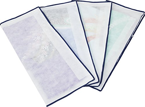 アストロ 着物収納ケース 4枚組 不織布製 2方開きファスナー付き たとう紙より丈夫で通気性に優れた...
