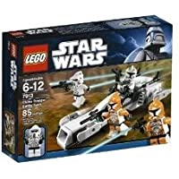 Toy / Game Colorful Lego Star Wars Clone Trooper Battle Pack 7913 With新しいClone Commanderミニフィギュア