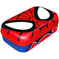 Marvel Spiderman Pencil Box Molded Pencil Case for Boys and Kids