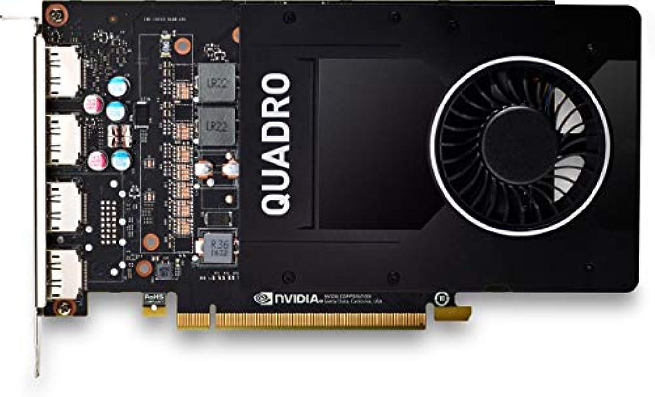 レンズミリメートル微弱MISC Promo NVIDIA Quadro P2200 5GB 4 DPT GFX
