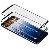 Meidom Samsung Galaxy S9 Plus Screen Protector, 9H Anti Scratch Curve Edge and High Sensitivity Fit Samsung Galaxy S9 Plus Screen Protector Anti-Fingerprint for Samsung Galaxy S9 Plus