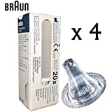 Braun Replacement Probe Cover for Braun ThermoScan Thermometer - Pack of 80