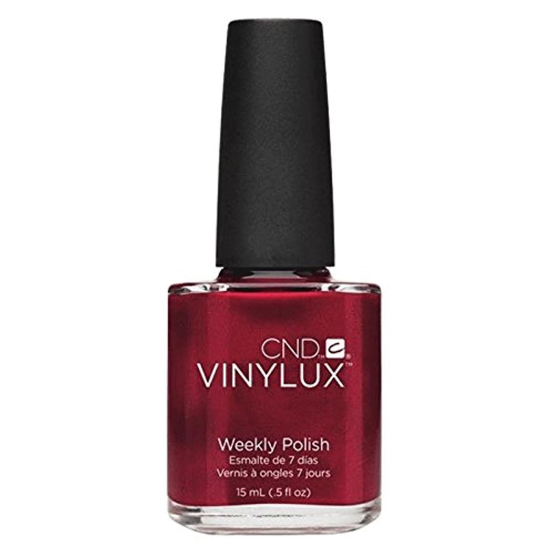 スズメバチ報復めるCND Vinylux Manicure Lacquer _ Red Baroness #139 _15ml (0.5oz)