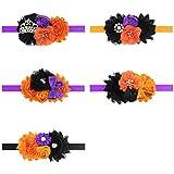 Baby Halloween Headdress Headbands with Flower Halloween Headwear JHH08 (Set) [並行輸入品]