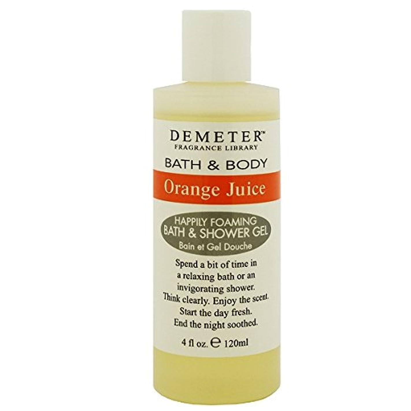 実験的気づくなる量【ディメーター】オレンジジュース バス&シャワージェル 120ml [並行輸入品]