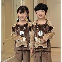 Super Soft Pajamas Set Baby Girls Boys Plush Winter Thicken Cartoon Kids Pyjamas Children Pajamas Sets Kids Boy Girl Sleepwear|Pajama Sets|