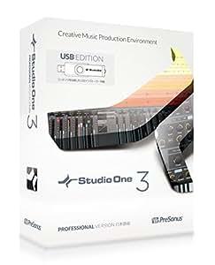 PreSonus プリソーナス 音楽制作ソフト Studio One 3 Professional日本語版(USB edition)