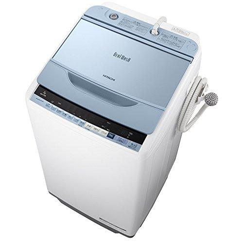 日立 全自動洗濯機 ビートウォッシュ 7kg ブルー BW-V70B A