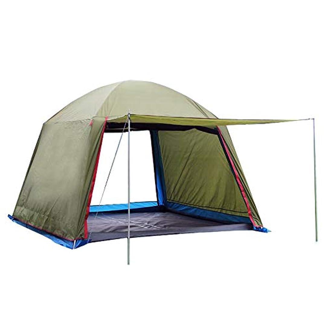 緯度株式慢屋外のパーゴラ、日よけキャンプ多人数防雨通気性抗UVビーチキャンプテント
