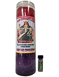 ジョン?The Conqueror Dressed Scented Candle – Veladora Preparada Juan Conquistador
