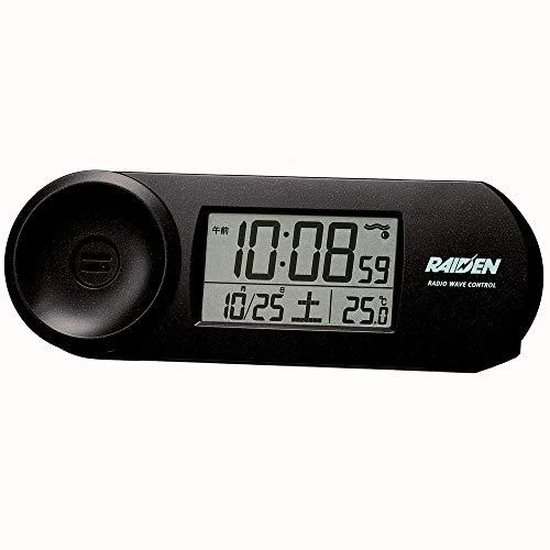 セイコークロック 置き時計 RAIDEN BC407K B07H5LH3M5 1枚目
