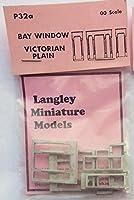 Langleyモデル2ベイWindows Victorian Plain OOスケール未塗装モデルパーツp32a