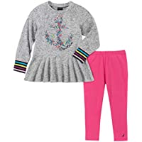 Nautica Baby-Girls 2 Pieces Leggings Set Pants Set