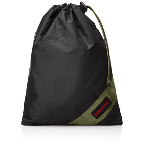 [ブリーフィング] ポーチ DRAWSTRING BAG S BRF434219 712 BLACK/OD