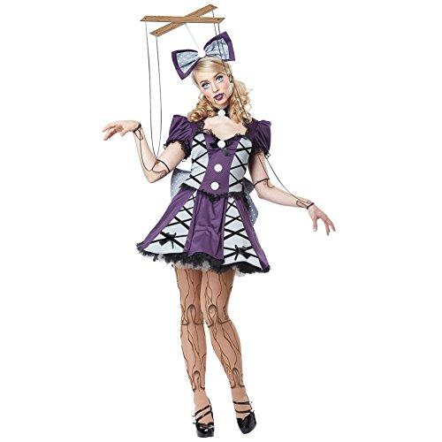 ハロウィン 仮装 California Costumes マリオネット あやつり人形 コスチューム レディース Mサイズ 01385