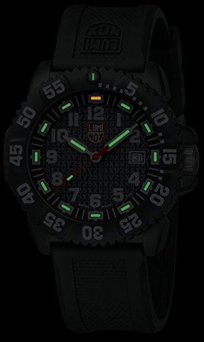 『[ルミノックス] 腕時計 SEASERIES 25TH ANNIVERSARY 3050SERIES 3051 25th 正規輸入品 ブラック』の2枚目の画像
