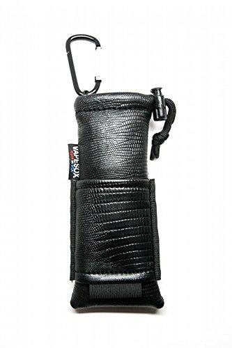 Vapesox(ベイプソックス) VS4 Mods Holder 電子タバコ 携帯ケース カラビナ付き / ベポライザー 2本 リキッド 2本 収納可能 (Black Lizard) VS4-029 Black Lizard