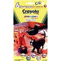 Crayola Model Magic Single Packs 6 Secondary Colors (4-Pack) (並行輸入品)
