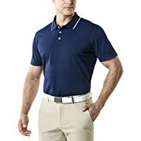 Tesla Men's Dri Flex Tech Polo Premium Active Fit Solid Top Shirt