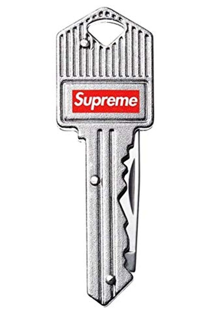 はねかける私たちのものシンプトンSupreme Key Knife シュプリーム キーナイフ キーチェーン シルバー