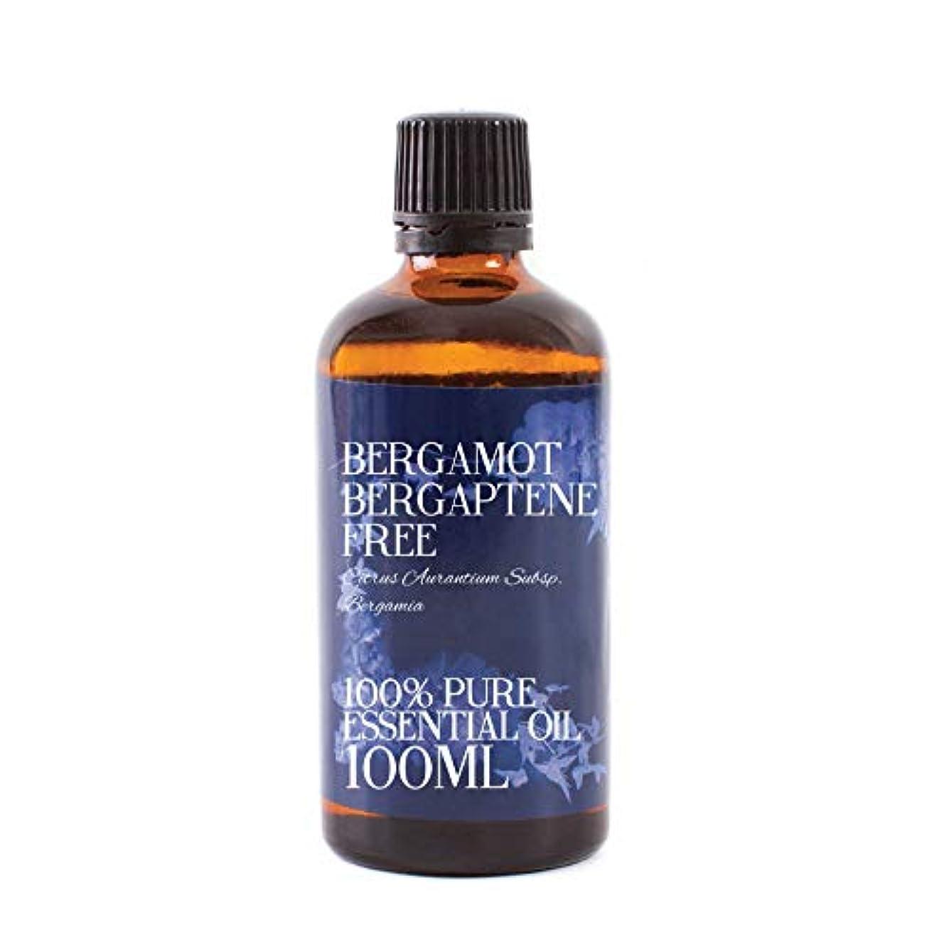 幽霊大脳希望に満ちたMystic Moments   Bergamot Bergaptene Free Essential Oil - 100ml - 100% Pure