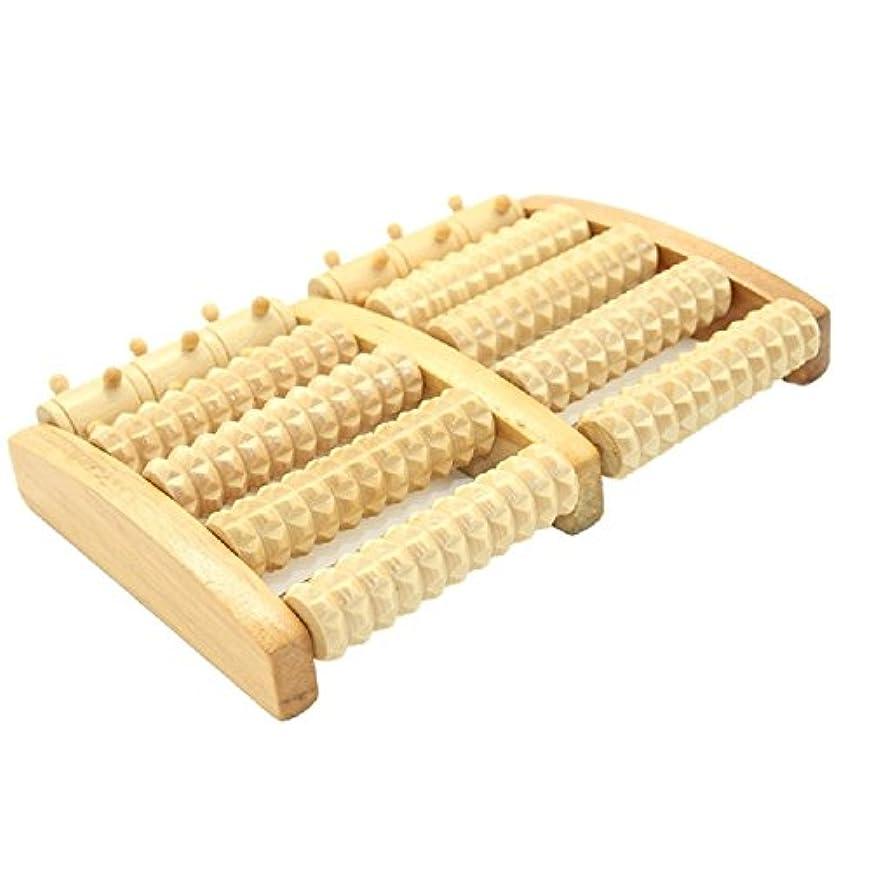 フットマッサージ ローラー BigTron 足つぼ フットマッサージャー 木製 足裏 ツボ刺激 血行促進 リラックス ストレス解消 足の痛み緩和