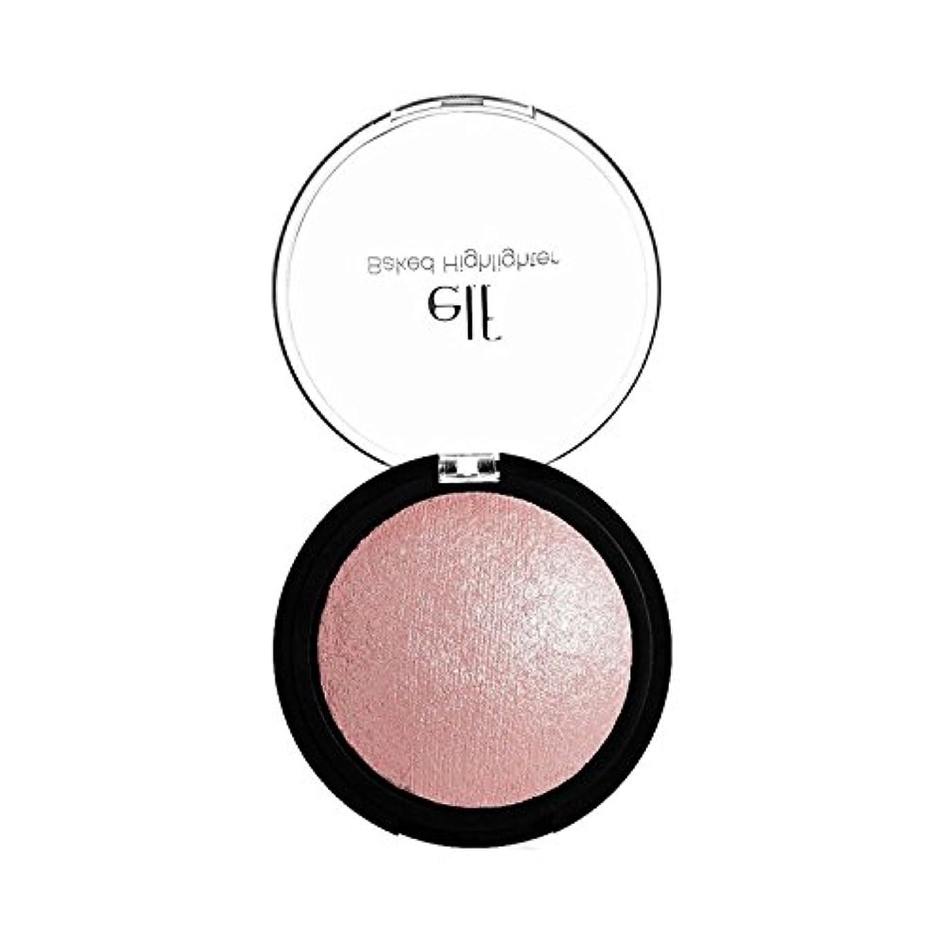 折意味東方e.l.f. Studio Baked Highlighter - Pink Diamonds(ベイクドハイライター, ピンクダイヤモンド, 0.17 oz 5 g)