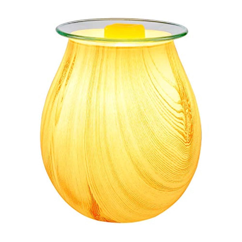 脅かす噂一流COOSA Electric Oil Warmer、美しいガラスワックスTartスターバーストNight Burnerライトアロマ装飾ランプwith 3d効果ギフトの装飾、パーティー、