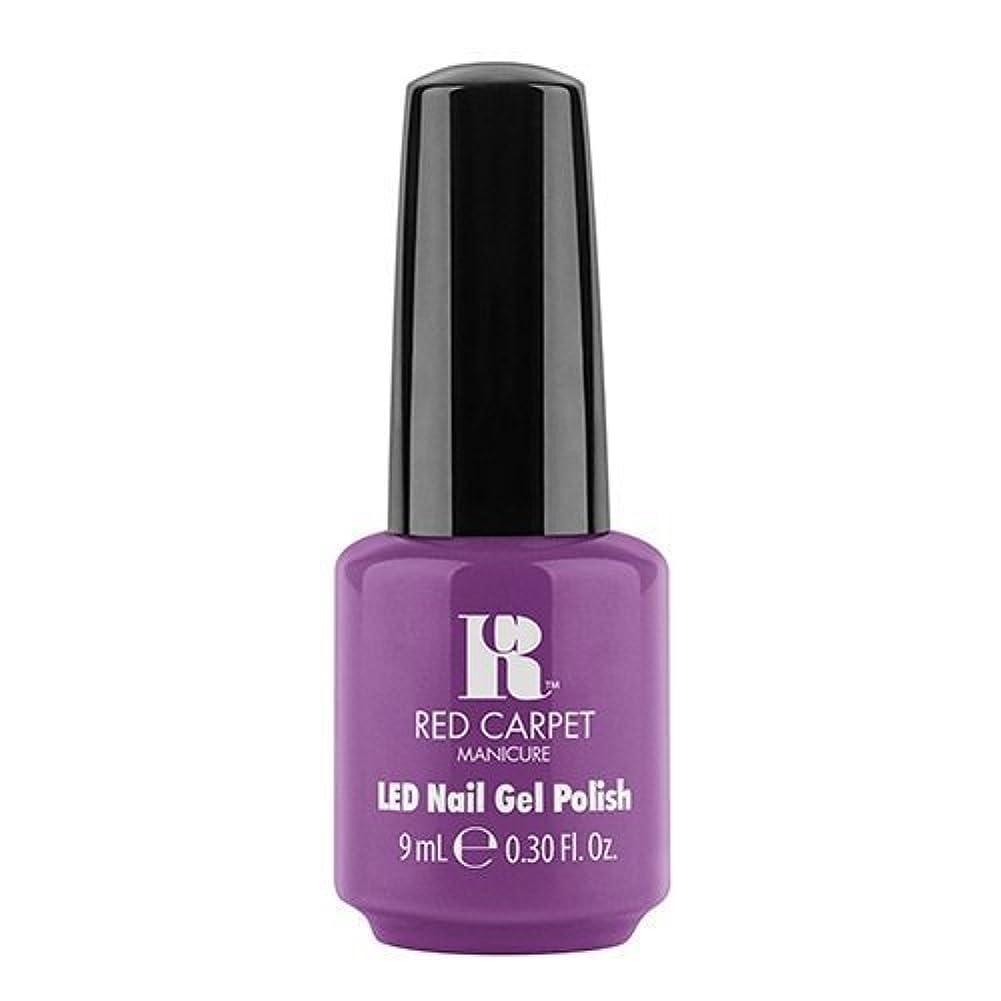 排気荒廃する地域Red Carpet Manicure - LED Nail Gel Polish - Dumpling Diva - 0.3oz / 9ml