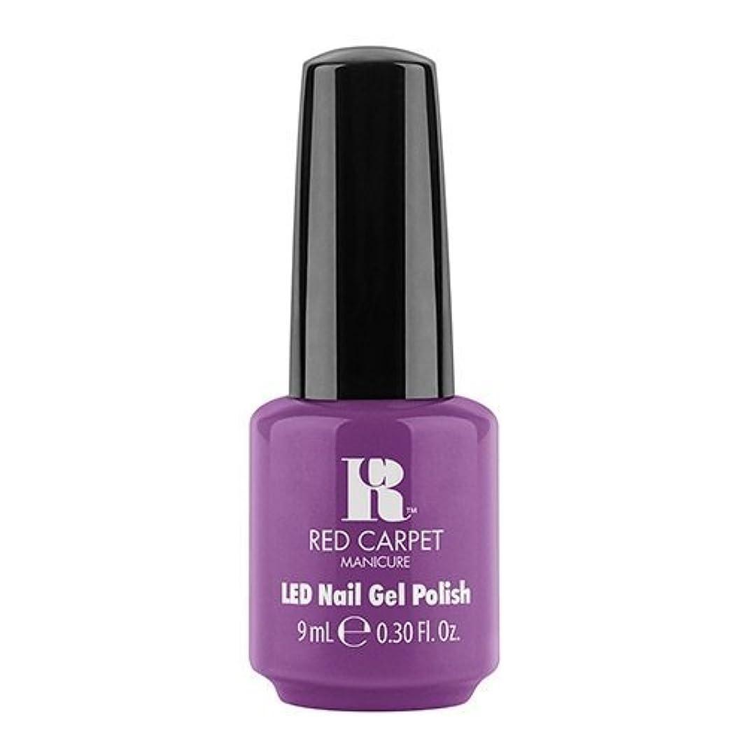 絶望的なリクルートまだらRed Carpet Manicure - LED Nail Gel Polish - Dumpling Diva - 0.3oz / 9ml