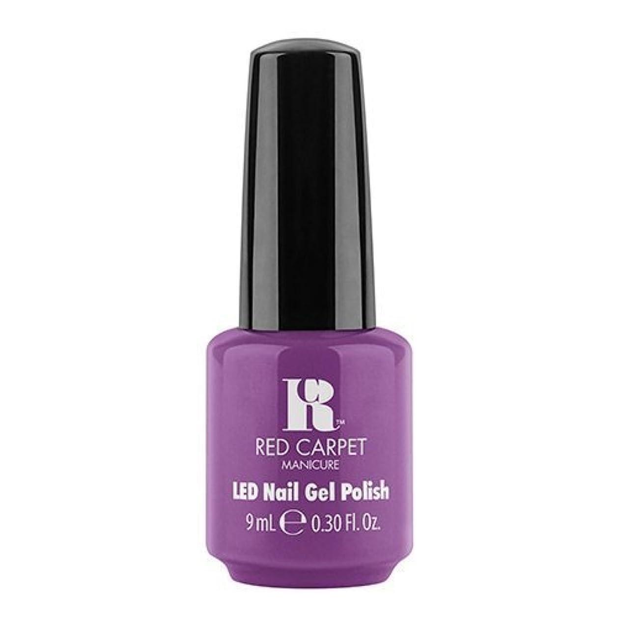 分散摂動加速度Red Carpet Manicure - LED Nail Gel Polish - Dumpling Diva - 0.3oz / 9ml