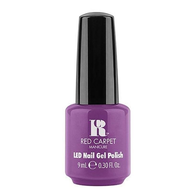 帳面忌み嫌う管理Red Carpet Manicure - LED Nail Gel Polish - Dumpling Diva - 0.3oz / 9ml