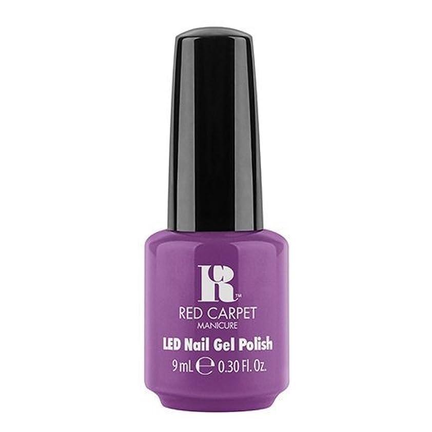 その後修正歴史家Red Carpet Manicure - LED Nail Gel Polish - Dumpling Diva - 0.3oz / 9ml