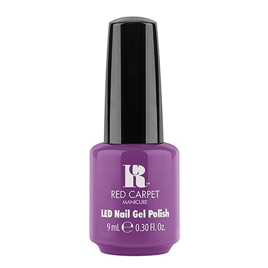 葉を集める推進早いRed Carpet Manicure - LED Nail Gel Polish - Dumpling Diva - 0.3oz / 9ml