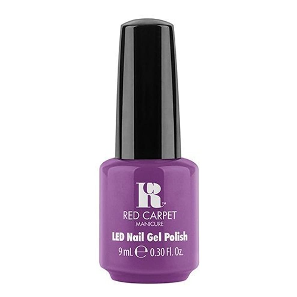 知覚的異邦人砂利Red Carpet Manicure - LED Nail Gel Polish - Dumpling Diva - 0.3oz / 9ml