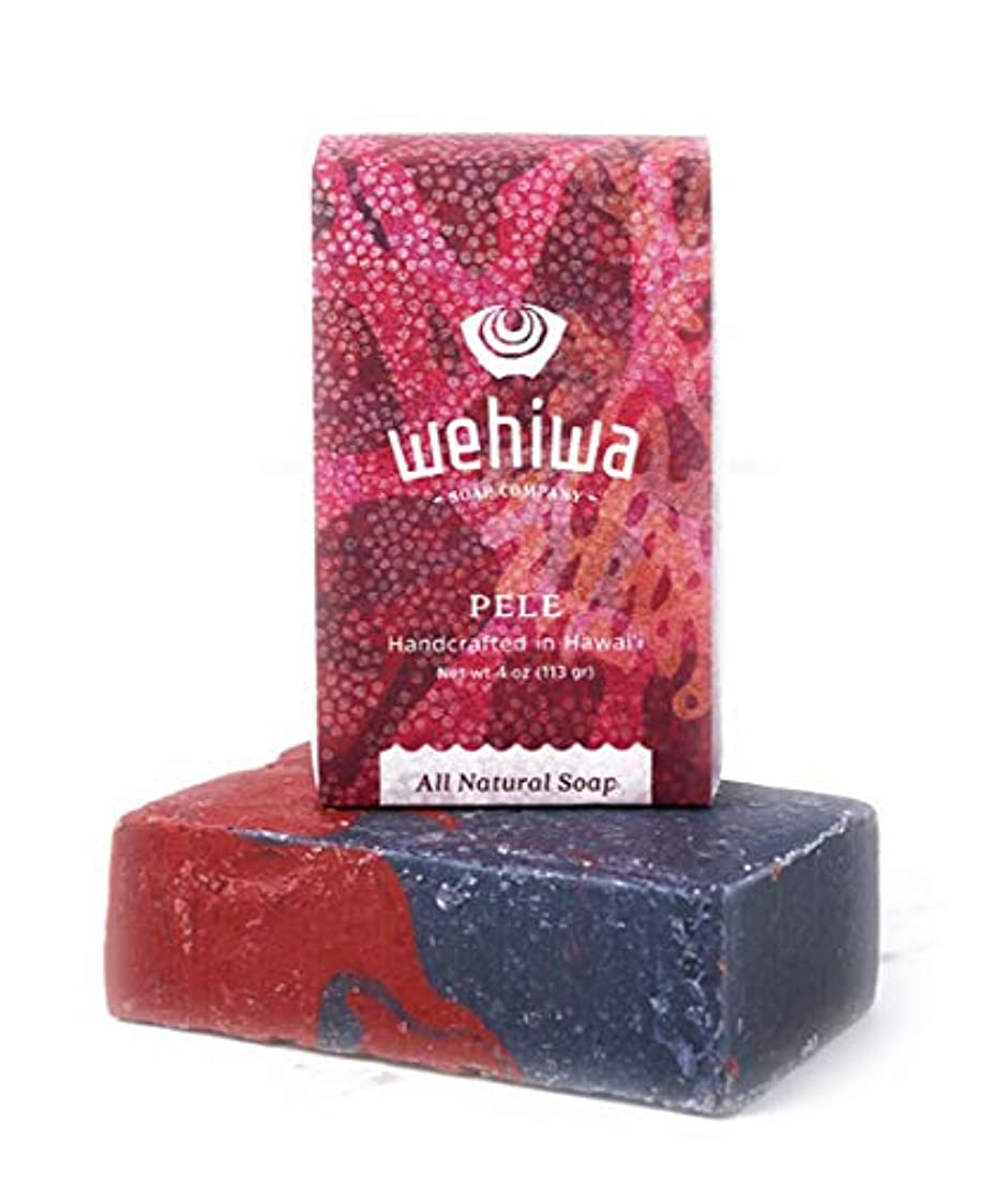 盆行き当たりばったり信頼性Wehiwa ヴェヒヴァ ソープ 石鹸 ハワイ お土産 ハワイアン雑貨 (ペレ)