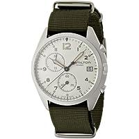[ハミルトン]HAMILTON 腕時計 Khaki Pilot Pioneer Chrono(カーキ パイロット パイオニア クロノ) H76552955 メンズ 【正規輸入品】