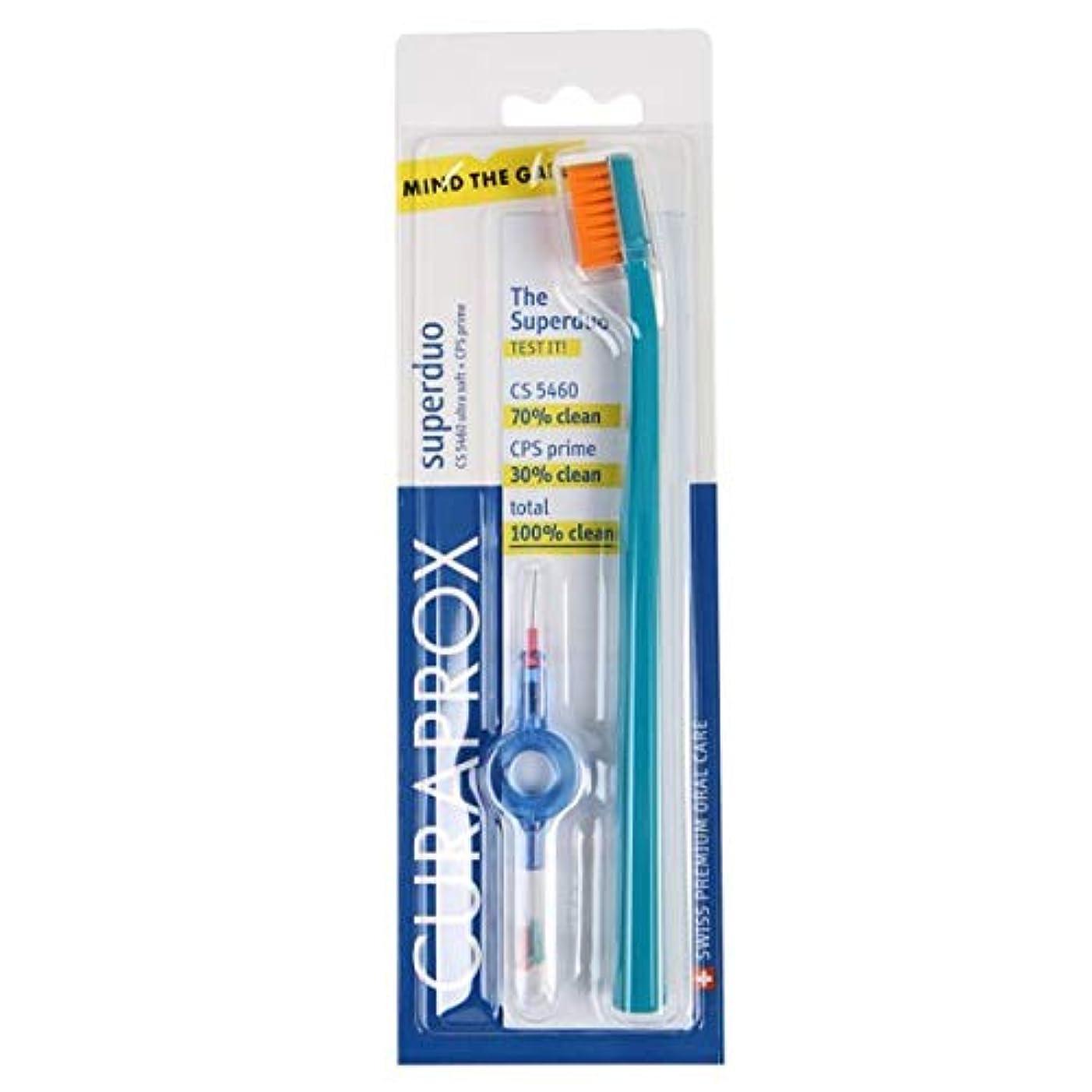 目に見える聖職者壊れたクラプロックス 歯ブラシ+歯間ブラシ セット CS 5460 + CPS 06/07/08, UHS 409 holder + cap