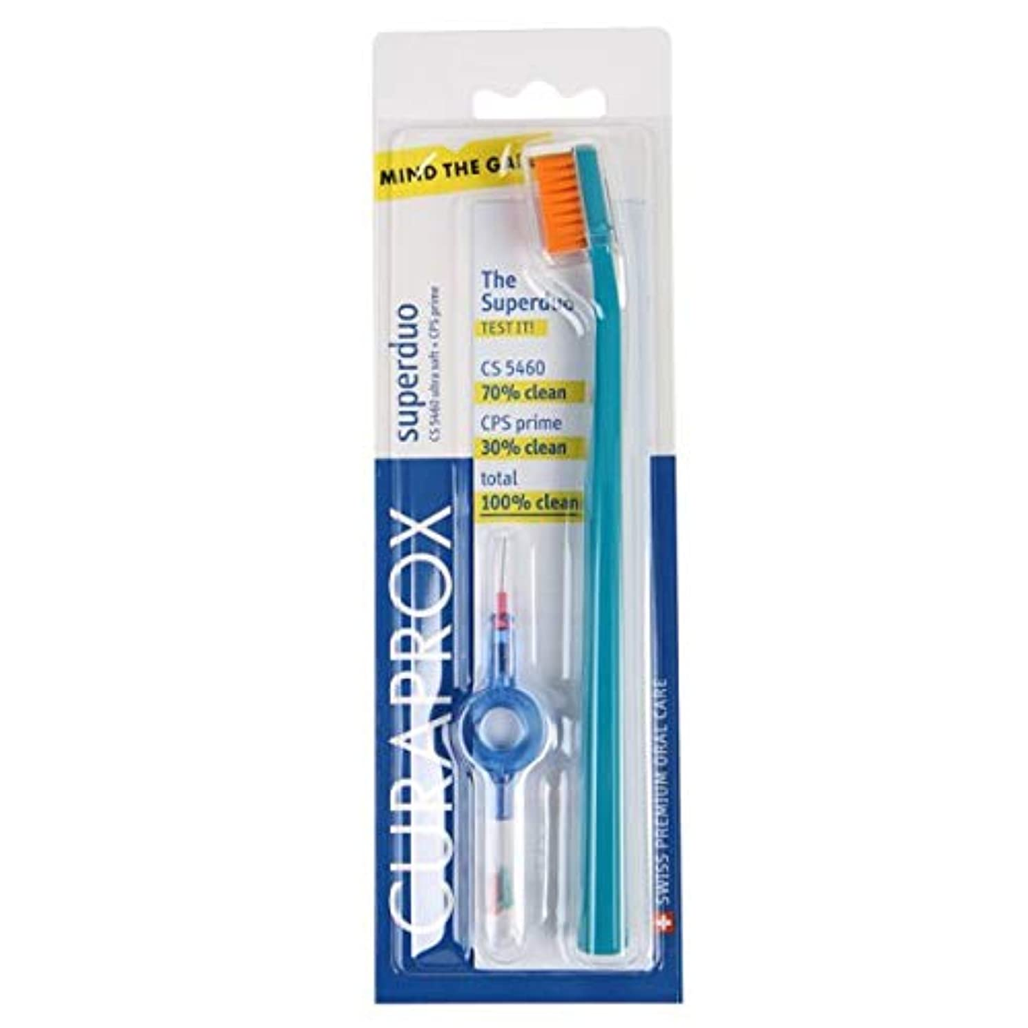 信じられない関与する若いクラプロックス 歯ブラシ+歯間ブラシ セット CS 5460 + CPS 06/07/08, UHS 409 holder + cap
