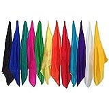 マジックシルク60x60 cm - シルク10パック(盛り合わせ) / Magic Silk 60x60 cm - Silk 10-Pack (Assorted) -- シルク&ケーンマジック / Silk&Cane Magic / マジックトリック/魔法; 奇術; 魔力 …