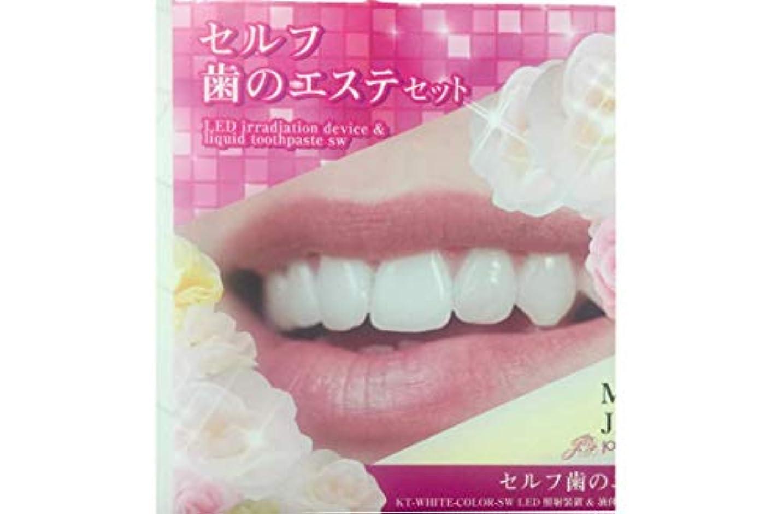 セルフ歯のエステセット (SCTC) ホワイトニング セルフケア [専用ジェル付き] シリコンマウスピース